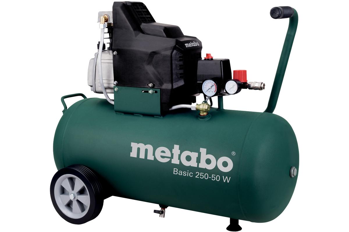 کمپرسور 50 لیتری متابو مدل BASIC 250-50 W