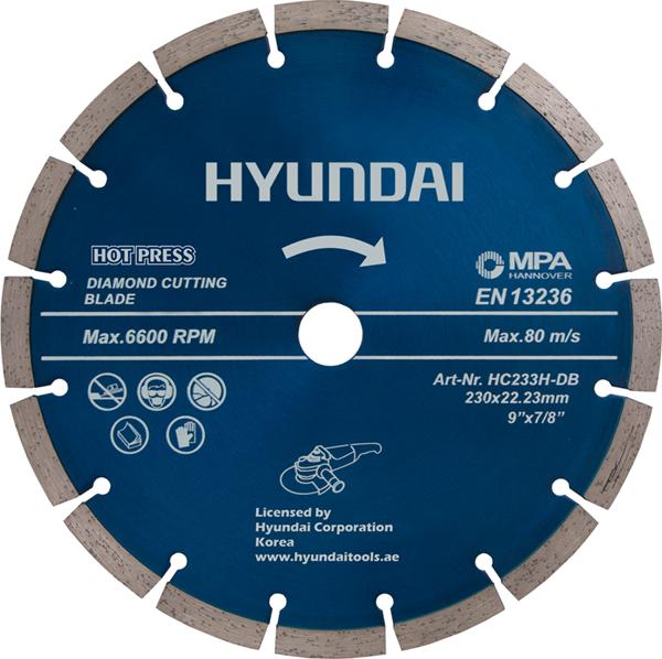 صفحه گرانیت بر سایز 230 میلیمتر هیوندای مدل HC233H-DB