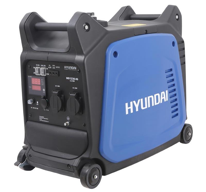 موتور برق 3/2 کیلو وات اینورتر هیوندای مدل HG1230-IG