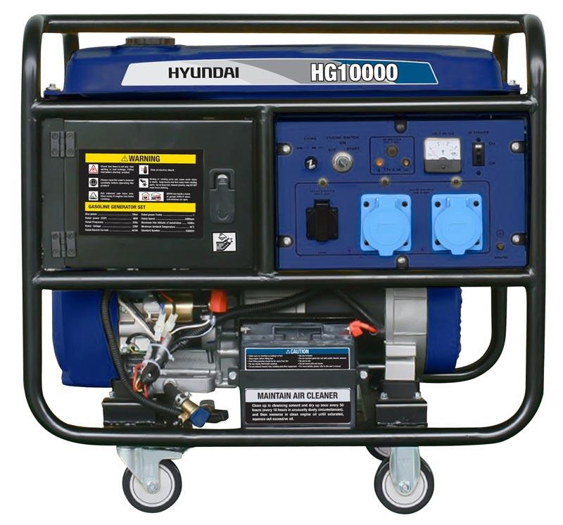 موتور برق 10 کیلو وات دارای VFT هیوندای مدل HG10000