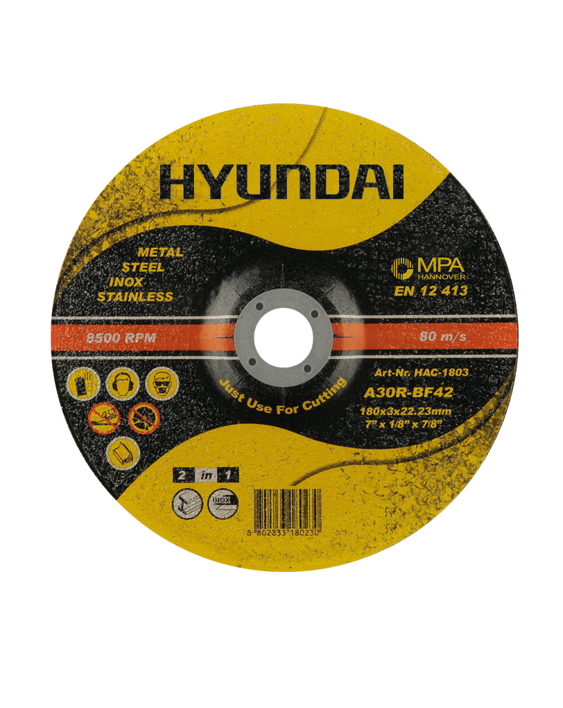 سنگ برش فیبری دو کاره هیوندای مدل HAC-1803