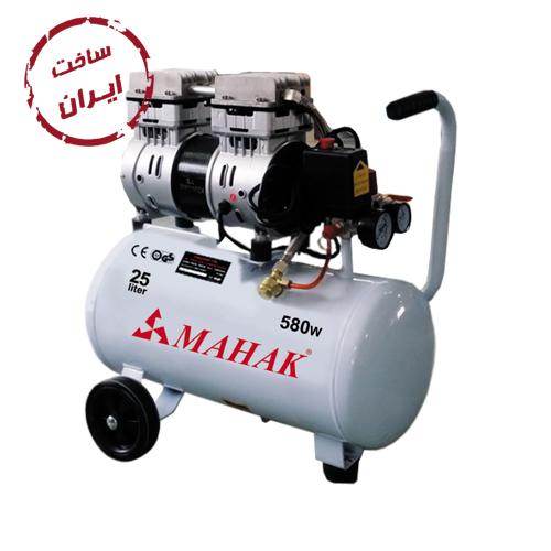 کمپرسور باد 25 لیتری ساخت ایران محک مدل HSU550-25L