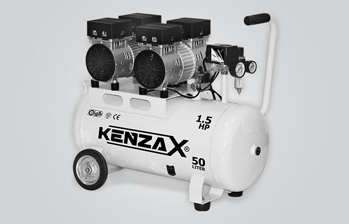 کمپرسور باد 50 لیتری (بی صدا) کنزاکس مدل KACS-150