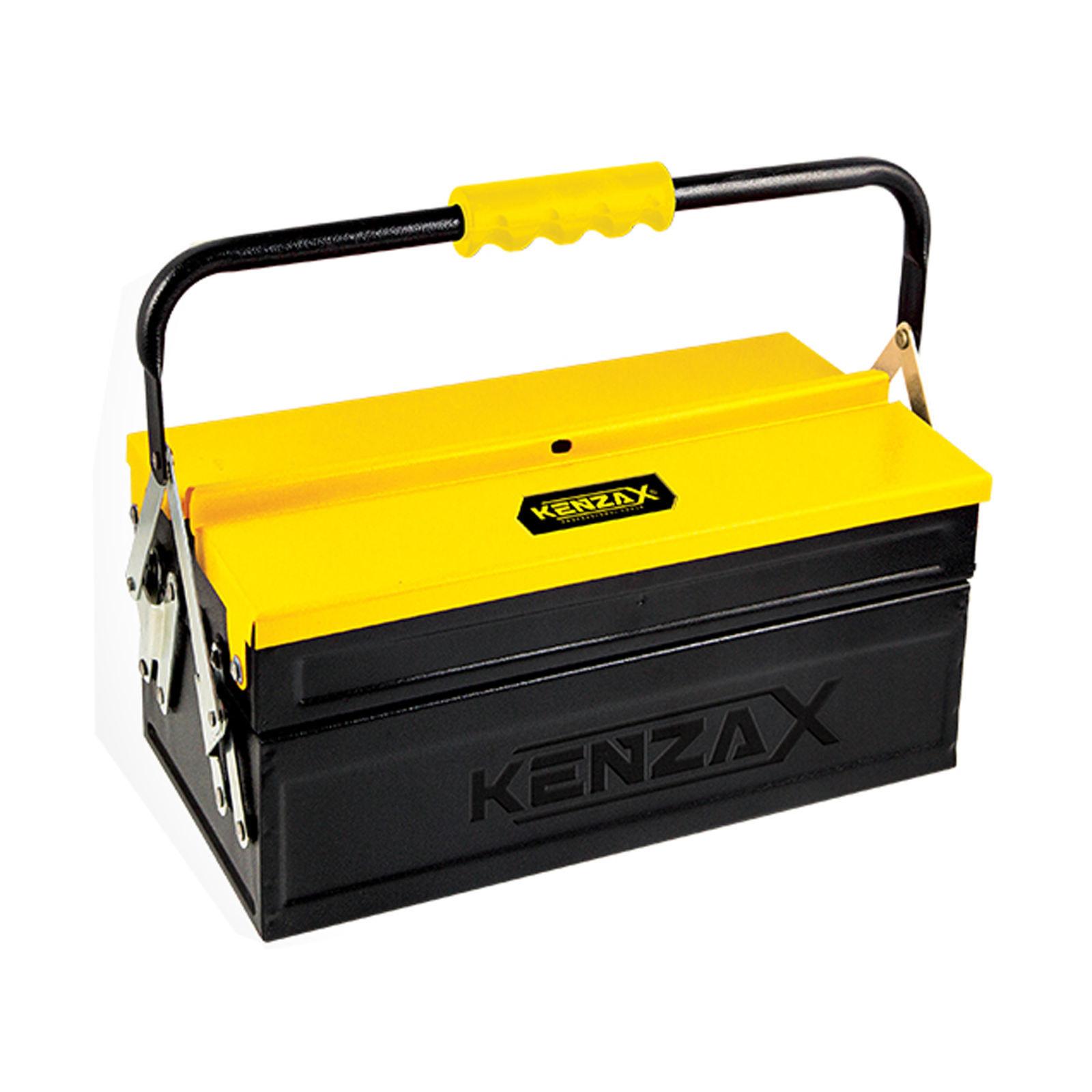 جعبه ابزار فلزی 2 طبقه 30 سانت کنزاکس مدل KBT-1302