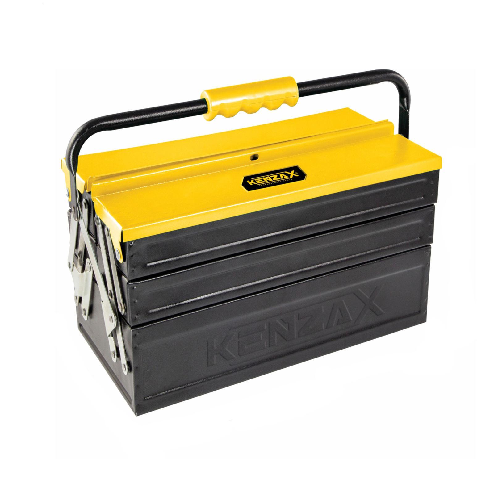 جعبه ابزار فلزی 3 طبقه 40 سانت کنزاکس مدل KBT-1403