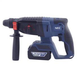دریل بتن کن چهار شیار شارژی 21 ولت ان ای سی مدل NEC-9521