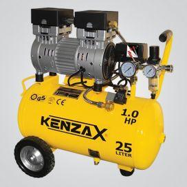 کمپرسور باد 25 لیتری (بی صدا) کنزاکس مدل KACS-125